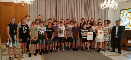 Vyhlášení sportovce města Kroměříž za rok 2018