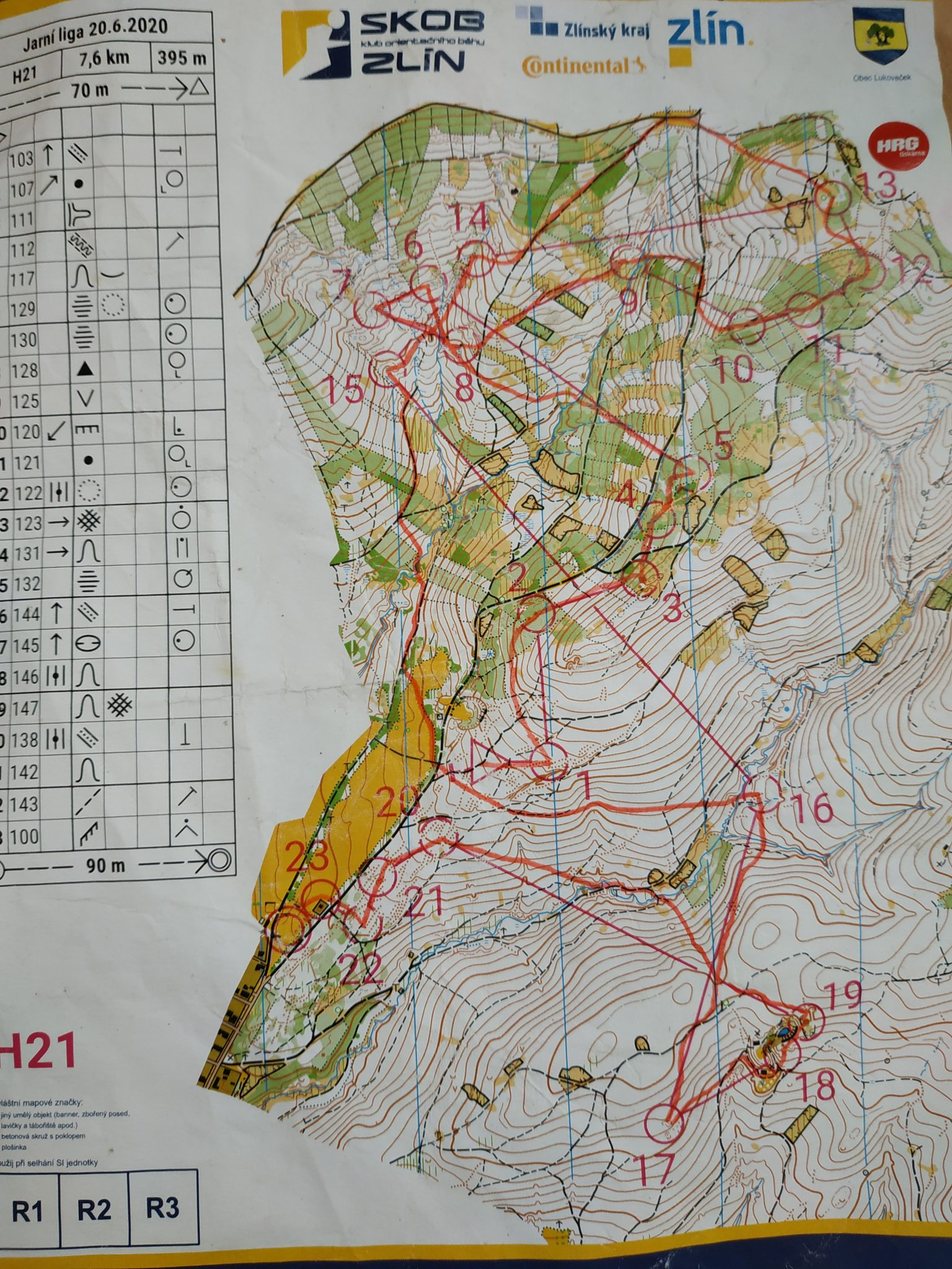 3. závod Valašské jarní ligy