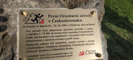 21.10. 1950 = první OB závod v Československu
