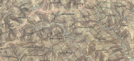 Historické zajímavosti na oddílových mapách – Chřiby